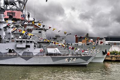Navy rehersal