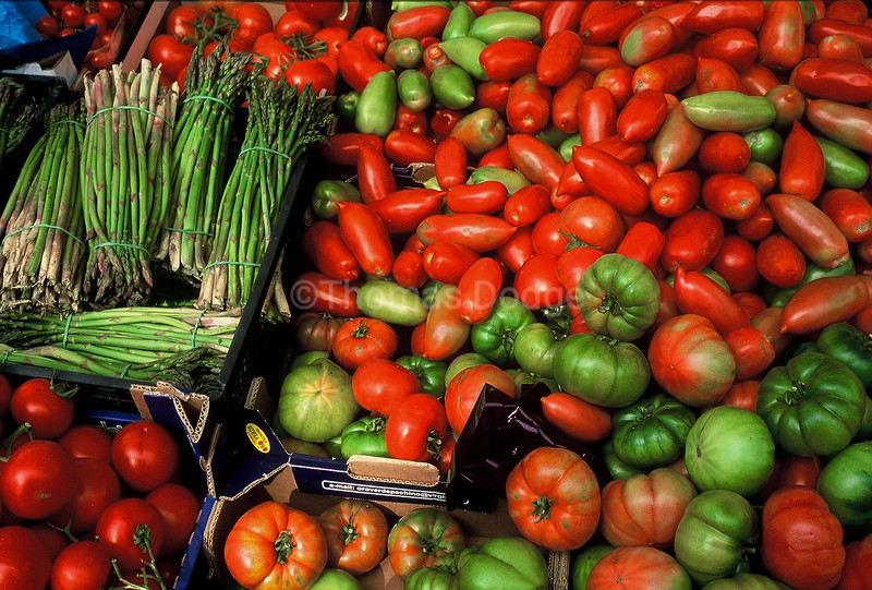 Tuscan market, Italy.