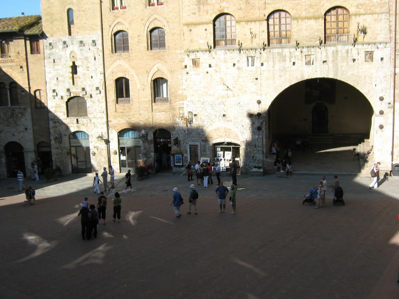 San Gimignano, in Tuscany,