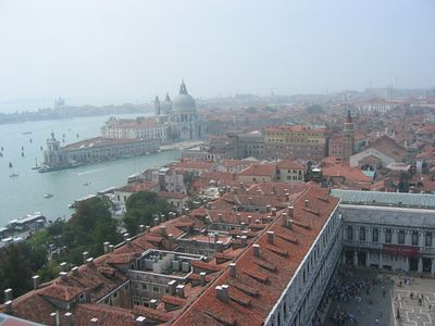 St. Mark's Square from the Campanile.