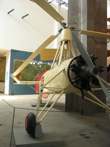 Gyrocopter, Museum of Science and Industry, Milan