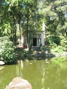 Stibbert's bathhouse.