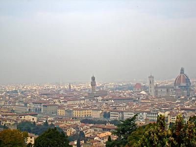 Sept. 28: San Miniato, Piazzale Michelangelo, Certosa di Galluzzo and Pizza Party