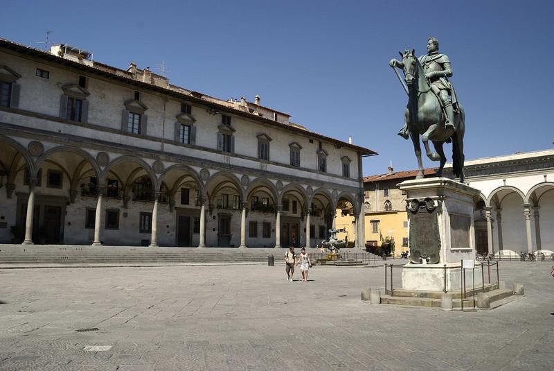 Grand Duke Ferdinando I, Pizza Della Santissima Annunziata, Florence.