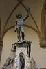 Perseus, Cellini's statue of 1554 holding Medusa's head! To warn enemies of their fate.