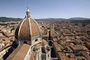 The Duomo Dome and Florence from the top of the Campanile.