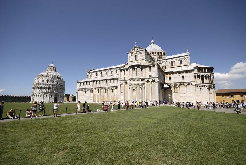 The Duomo, Pisa.