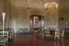 Medici Villa in Poggio, its dinning room.
