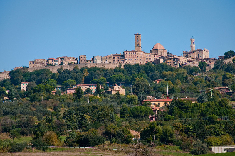The village of San Gimignano in Tuscany.