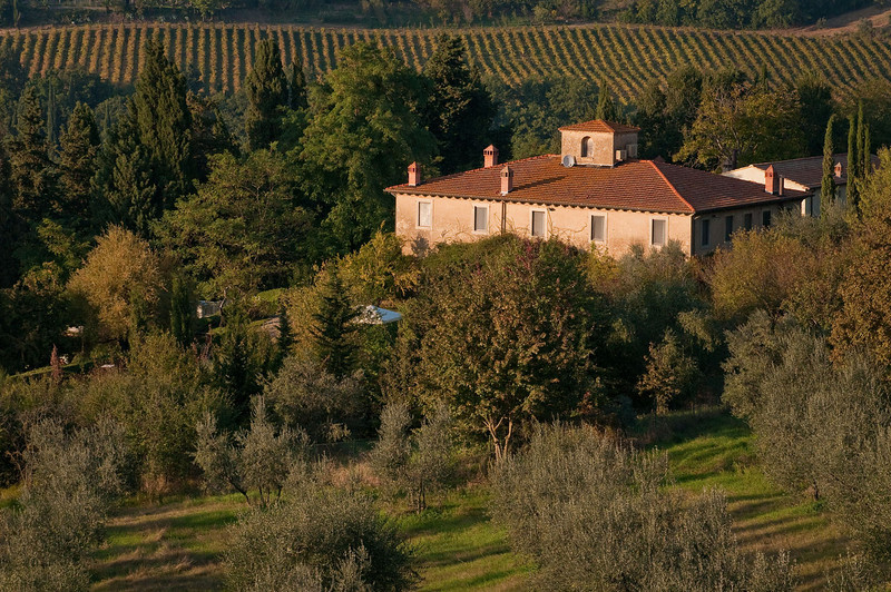 """The timeless """"feel"""" of Tuscany is punctuated with evidence of encroaching technology - satellite dishes and cell phone towers are ubiquitous in the region...even in the tiniest of villages."""