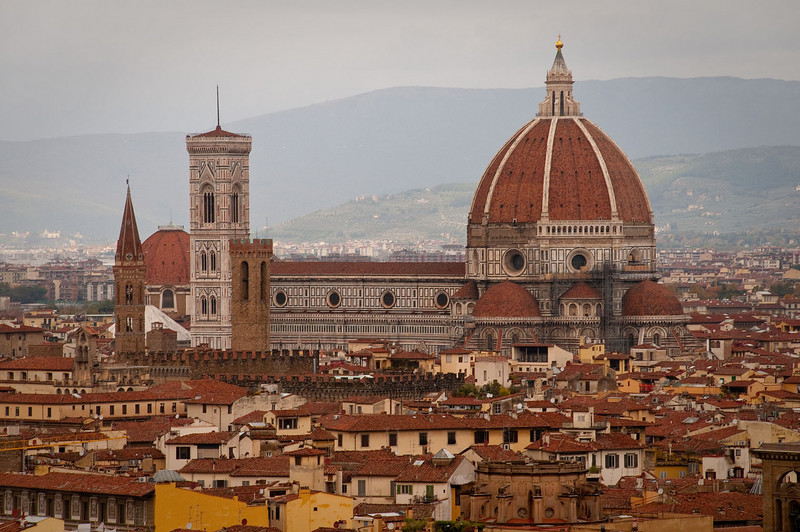 Church of Santa Maria del Fiore in Florence.