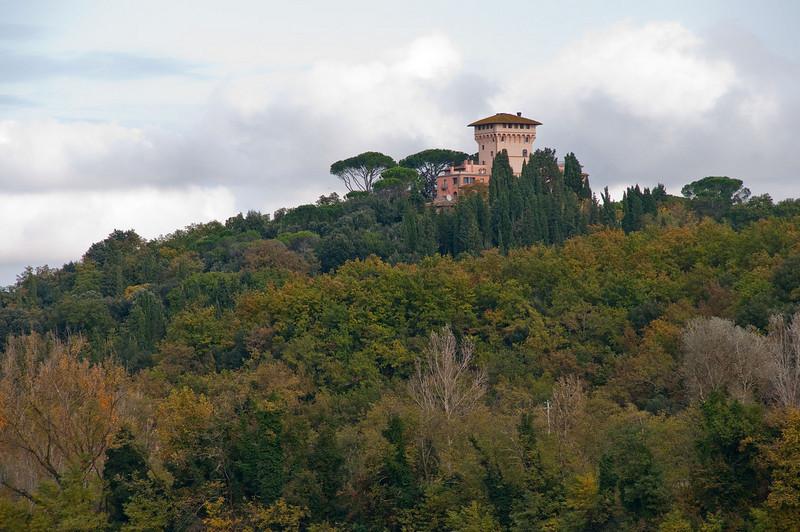 Villa near Florence.