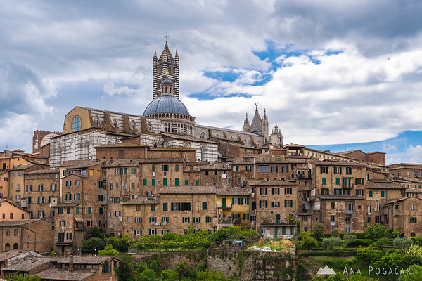 Siena on a spring day