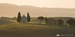 Cappella di Vitaleta just after sunrise