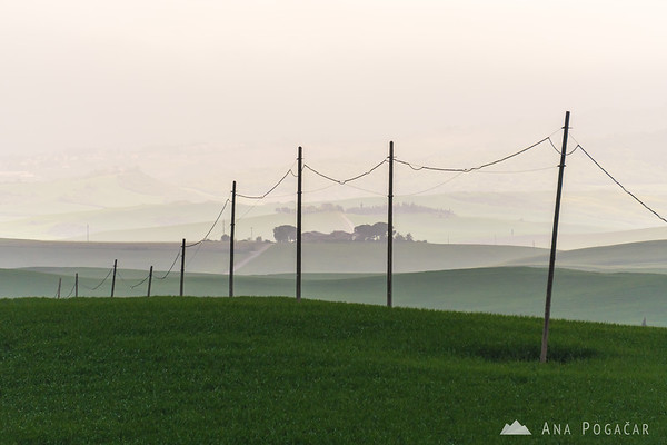 Countryside near Pienza