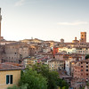 Cityscape of city Siena, Tuscany, Italy