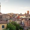 Cityscape of city Siena, Tuscany, Italy