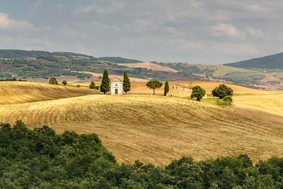 Cappella della Madonna di Vitaleta, Tuscany, Italy, 2014