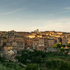Panorama of city Siena, Tuscany, Italy