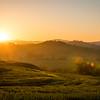 Sunrise in Crete Senesi
