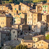 Golden hour in Sorano