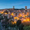 Sorano at evening