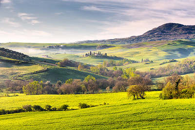 Tuscan spring colors