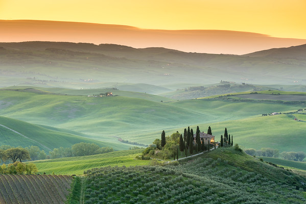 Amazing tuscan country