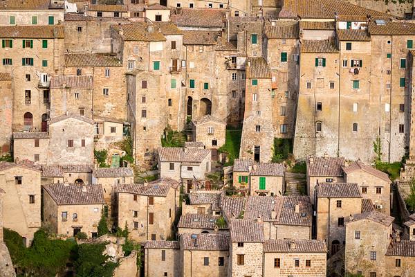 Sorano, Tuscany, Italy, 2016
