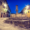 Fountain in Asciano