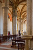 Nave of the Cathedral of Pienza, Siena, Tuscany, Italy