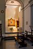Chapel in the Church of Santa Croce, Greve in Chianti, Tuscany Italy