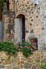 Entryway, Vignamaggio winery, Chianti region, Tuscany, Italy