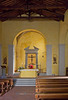 Nave of the Church of San Niccolo in Radda, Chianti region of Tuscany, Italy