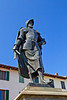 The explorer Giovanni da Verrazzano, born in Greve, discovered New York's Hudson Bay in 1524, Tuscany, Italy