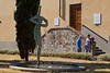 Fountain in Greve in Chianti, Tuscany, Italy