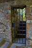 Gated entryway in Montefioralle, Tuscany, Italy