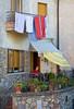 Laundry day, San Gimignano, Tuscany, Italy