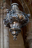 Interior details in the Cathedral of Pienza, Siena, Tuscany, Italy