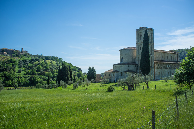 Abbey of St. Antimo, Casteinovo dell Abate, Italy