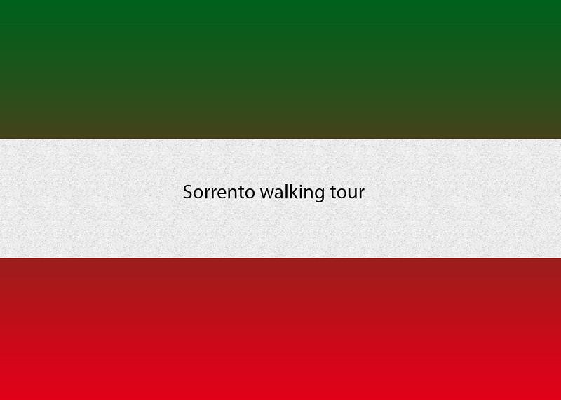 Sorrento walking tour