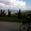 Our bicycle tour (with Backroads) started in Southern Tuscany (Val d'Orcia)