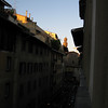 View out our window (tower of Palazzo Vecchio visible)