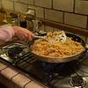 Leftover risotto
