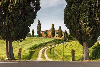 Idyllic farmhouse in Tuscany