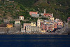 Then we took the ferry back to Manarola, stopping at Vernazza . . .