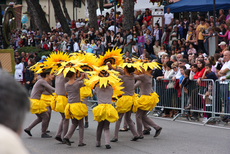 . . . and many troupes of dancers acting out the highlights of the seasons . . .