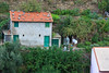 Up early the next morning to pack up and watch the activity on the hillside opposite. Couples tending their gardens . . .