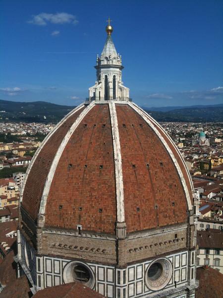 """Cupola of Santa Maria del Fiore (""""il Duomo"""" aka Brunelleschi's dome)"""