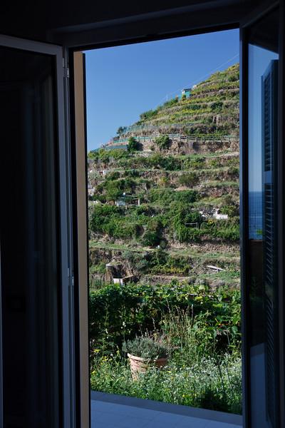 . . . and the hillside opposite . . .